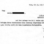 Erwin Jekelius - medical note