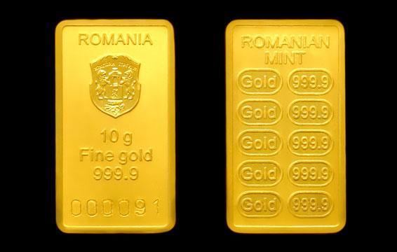 aur romanesc economie
