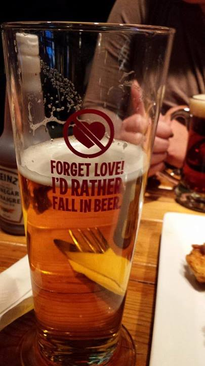 forget love fall in beer