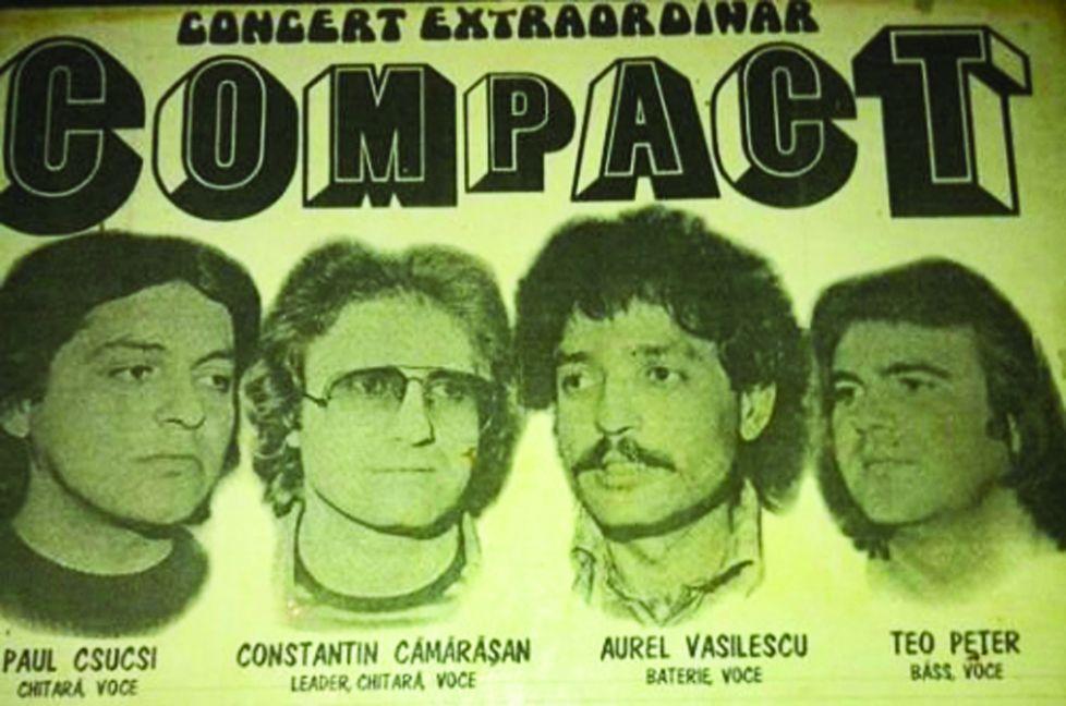 trupa compact primul afiş 1981