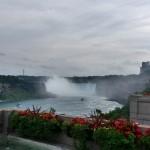 Artistic Niagara Falls view