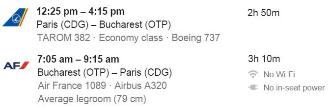 calitatea zborului formula google flights