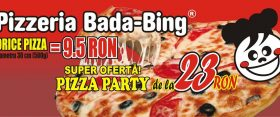 Pizza ieftină. Pizza Bada-bing
